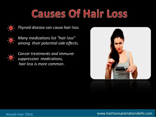 How to solve hair loss problem