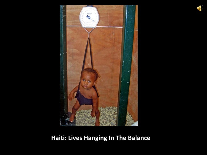 Haiti: Lives Hanging In The Balance<br />