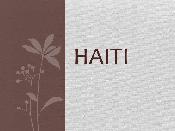 Haiti - www. pcua.org
