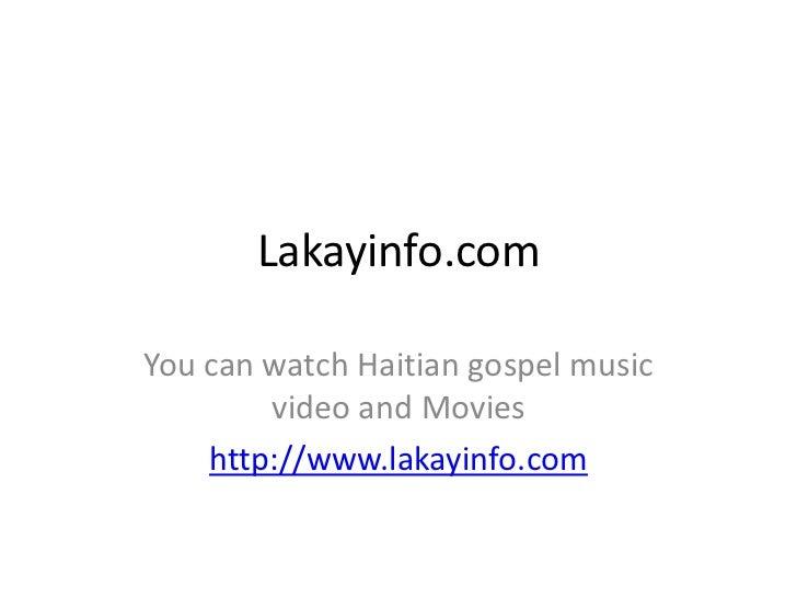 Haitian music gospel