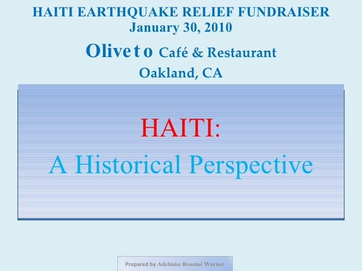 Haiti: Before and After the January 12, 2010 Earthquake