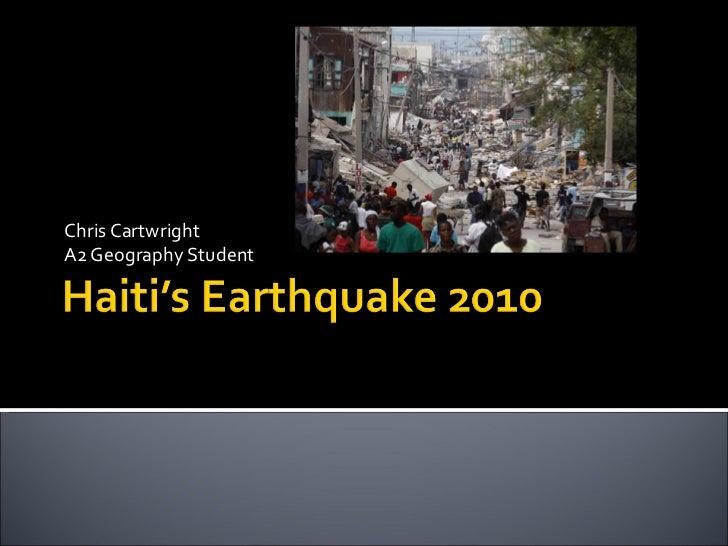 Haiti's earthquake 2010