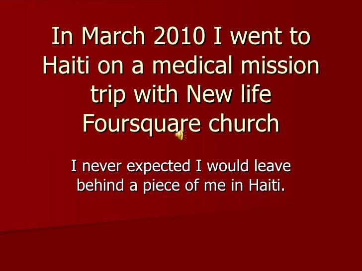 Haiti Slideshow (Fil Eminimizer)