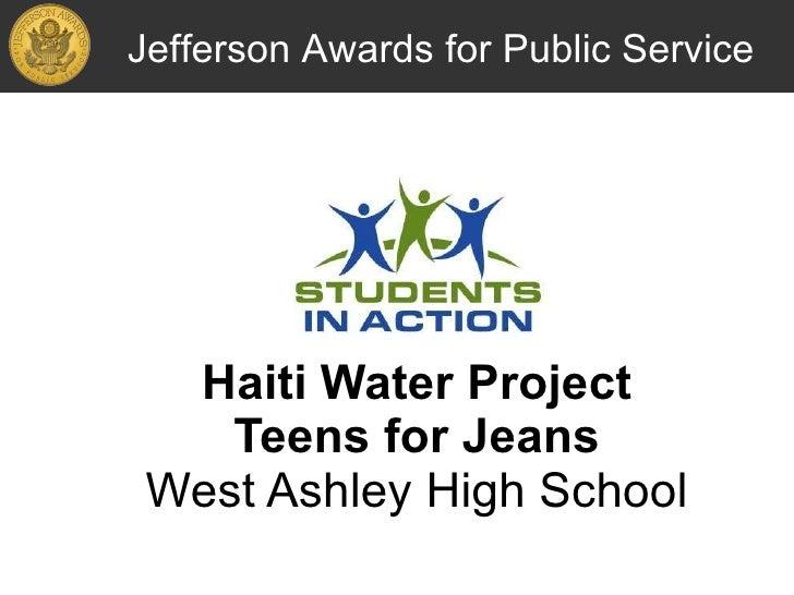 Helping Haiti - Haiti Water Project
