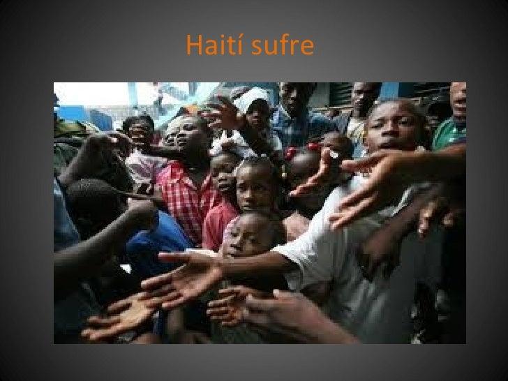 Haití sufre