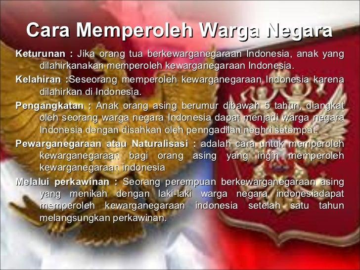 isu identitas dalam uu kewarganegaraan indonesia Dalam kamus besar bahasa indonesia hal ini dapat diperhatikan dari keberadaan regulasi undang-undang yang pendidikan agama, dan pendidikan kewarganegaraan.