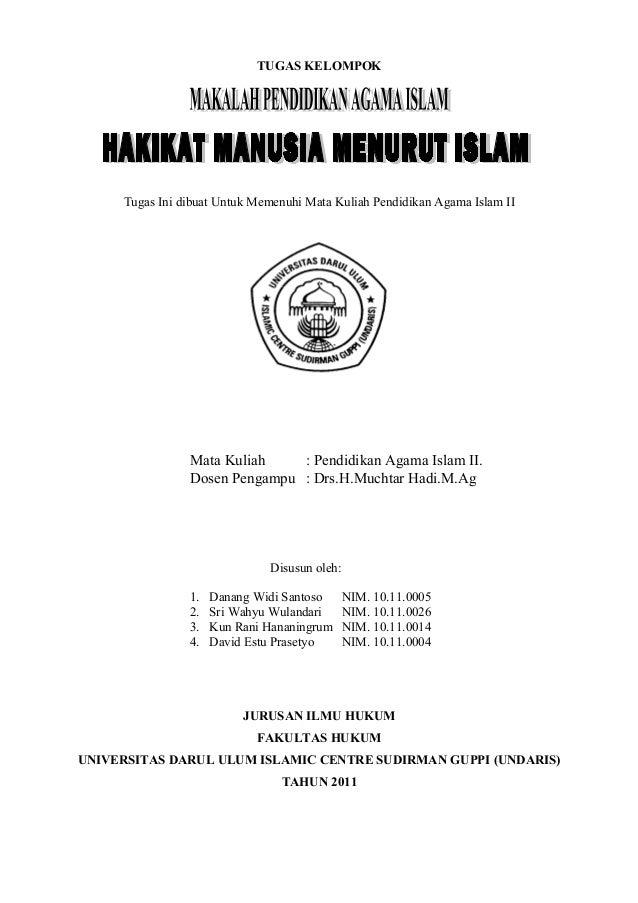 Hakikat Manusia Menurut Islam Document