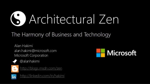 Zen and The Art of Enterprise Architecture (Open Group Conference Newport Beach 2013)