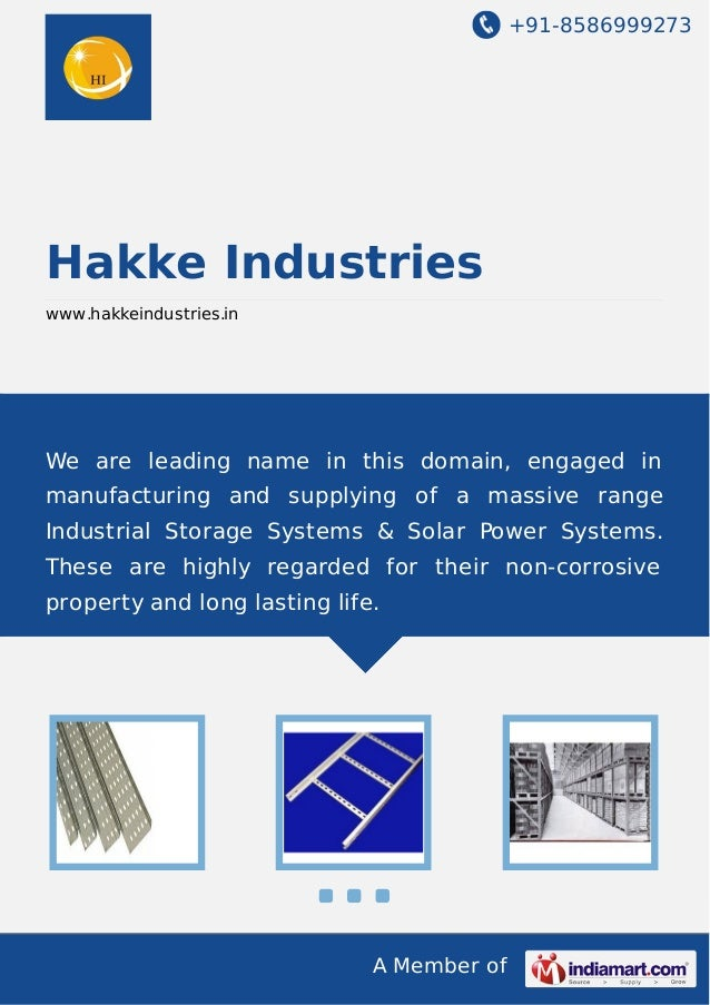 +91-8586999273  Hakke Industries www.hakkeindustries.in  We are leading name in this domain, engaged in manufacturing and ...