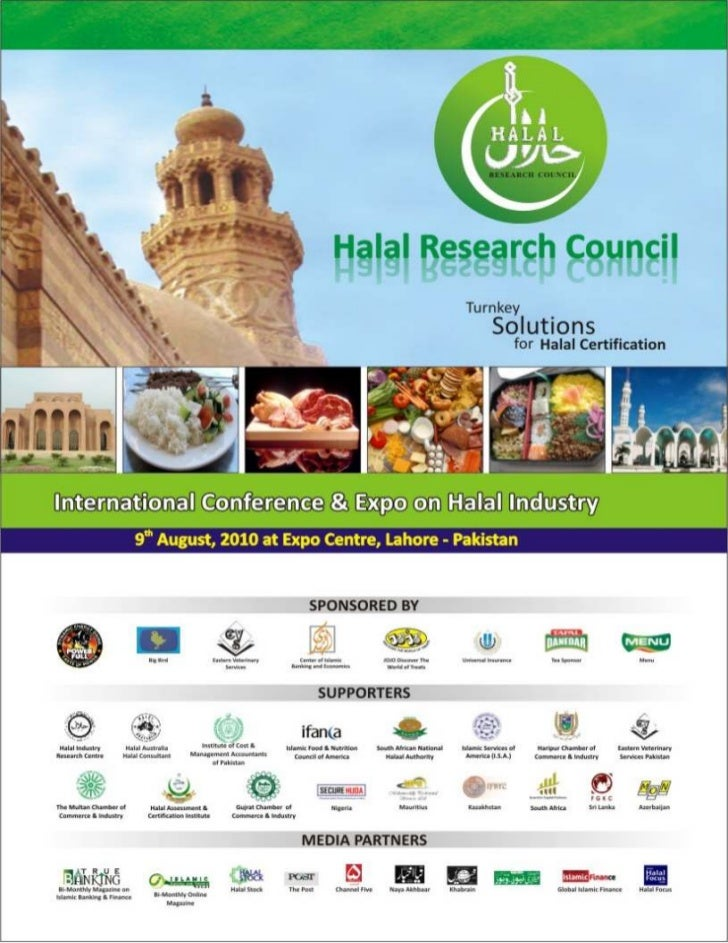Halal conference, event agenda of international conference and expo in halal industry