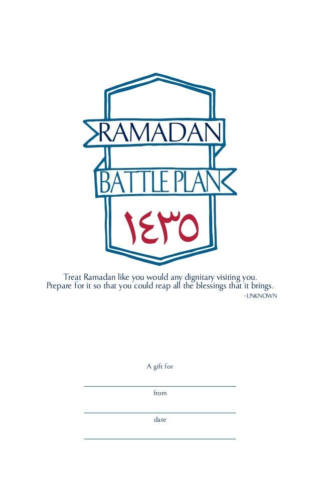 Halalify ramadan battle plan 2014 preview