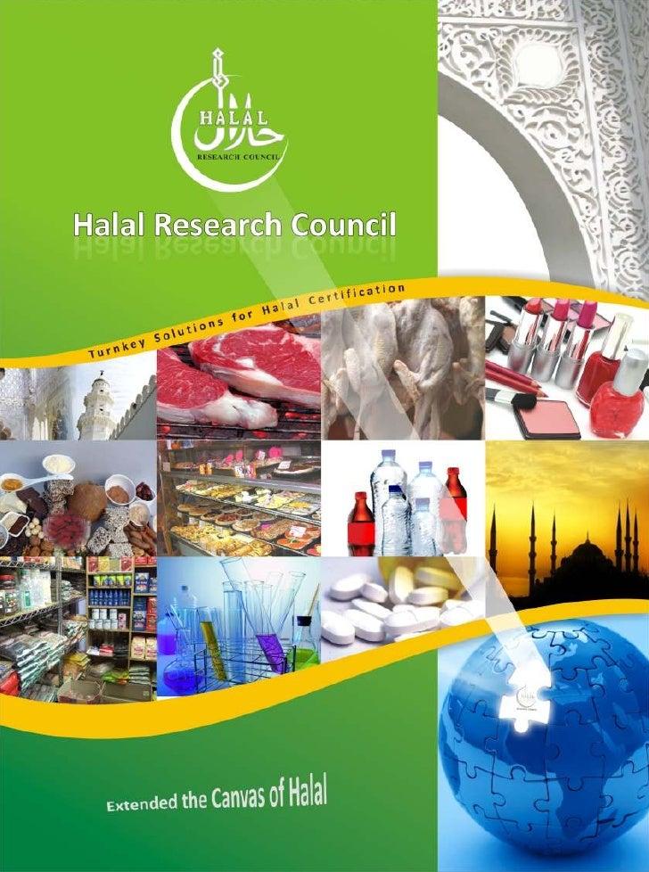 Halal research council profile