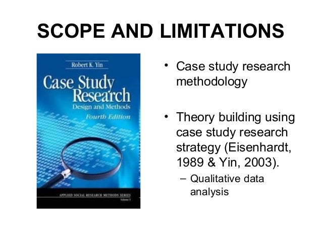 A Case Study  Assumptions and Limitations of a Problem Solving Method