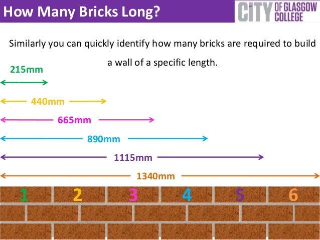 How Many Landscaping Bricks Do I Need : How many bricks long similarly you can quickly identify