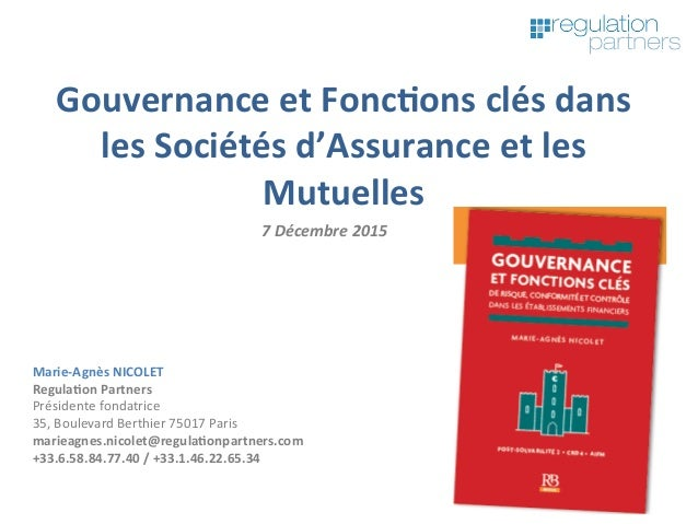 Marie-AgnèsNICOLET Regula7onPartners Présidentefondatrice 35,BoulevardBerthier75017Paris marieagnes.nicolet@reg...