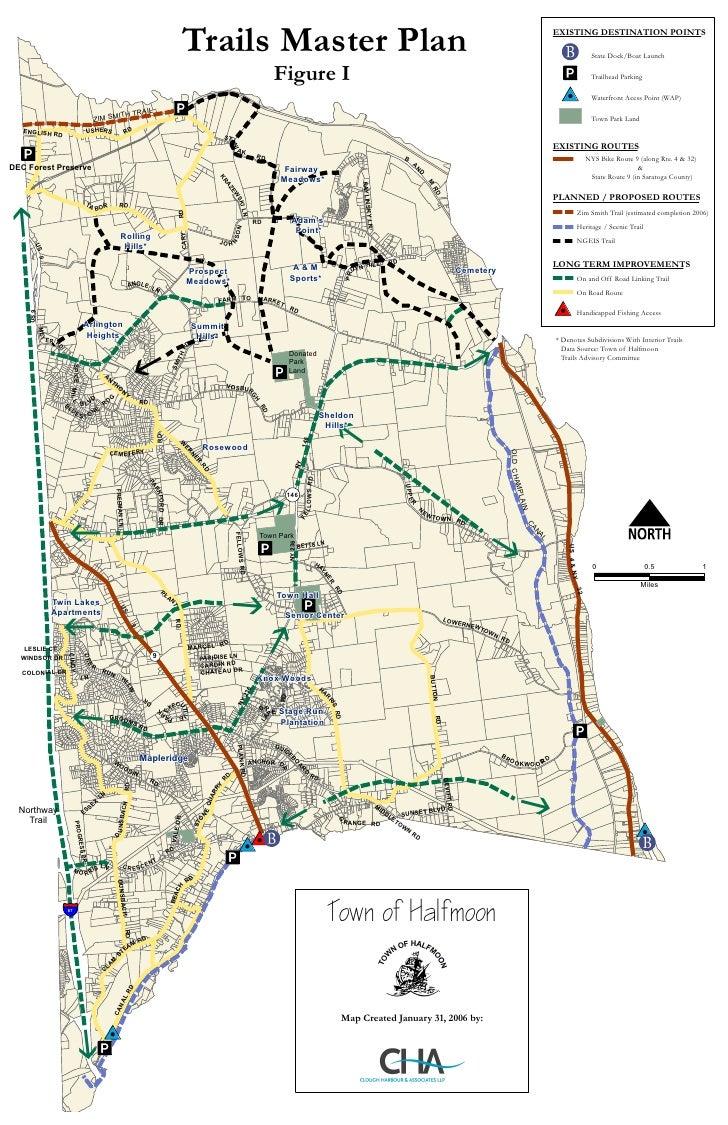 Halfmoon Trails Map