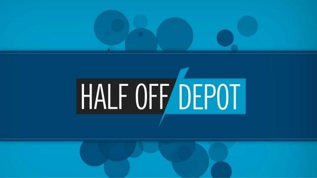 Half Off Depot 2012 Venture Atlanta Presentation