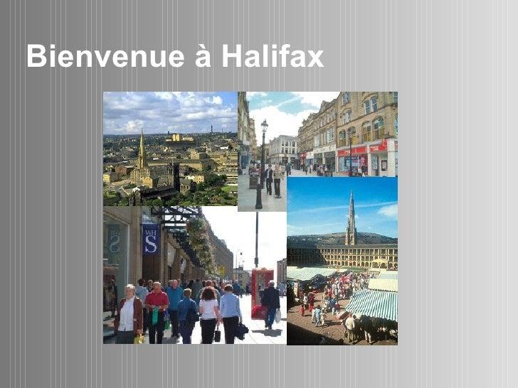 Bienvenue  à  Halifax