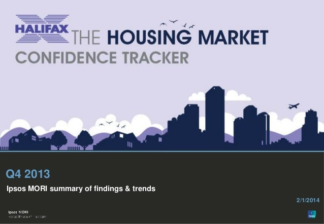 Halifax Housing Market Confidence Tracker Q4 2013