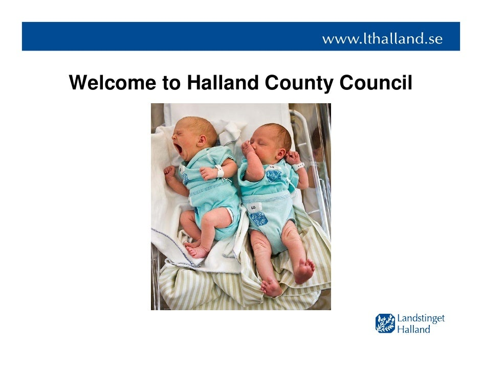 Welcome to Halland County Council