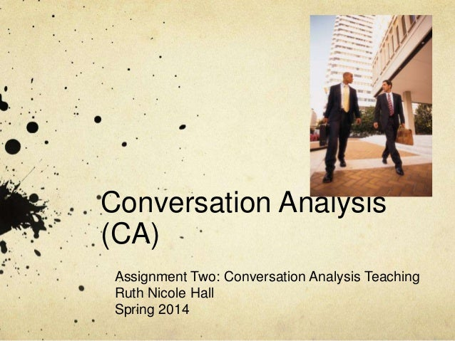 teaching_assignment two_conversation_analysis_teaching