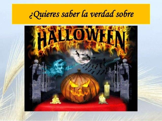 Halloween y la fiesta de todos los santos