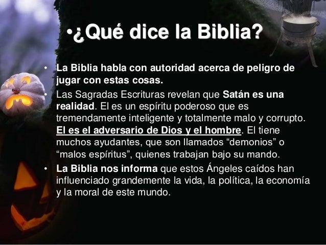 13. \u2022¿Qué dice la Biblia?