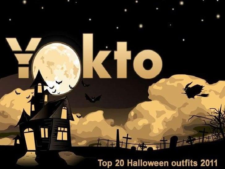 Yokto's Top 20 Halloween Costumes