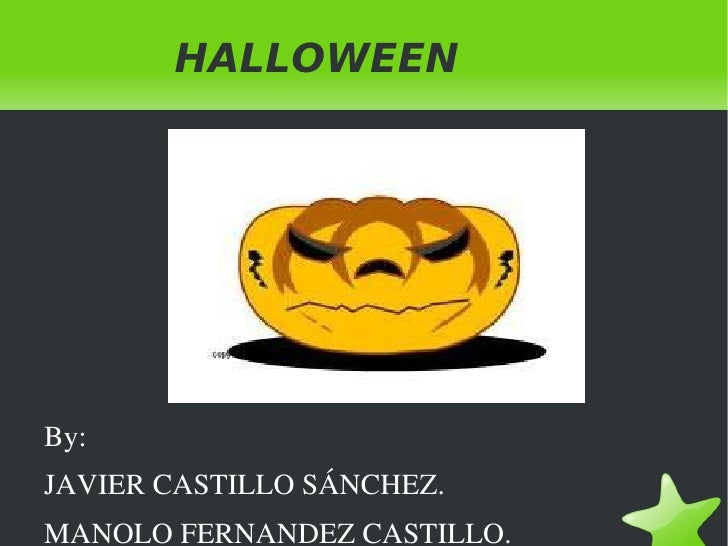 Halloween by Javi and Manolo