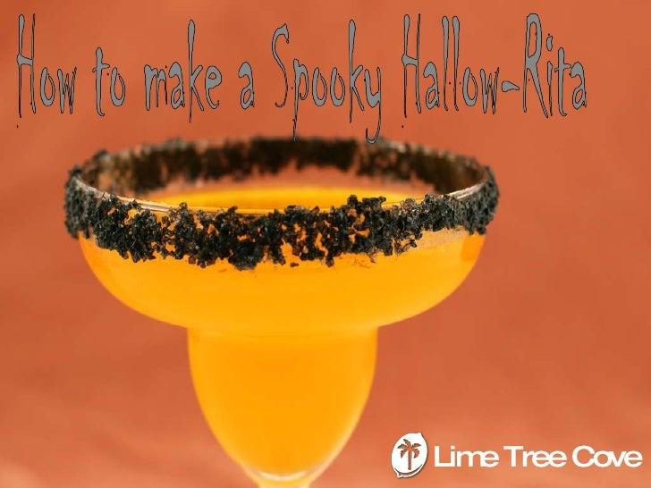 Halloween cocktail   margarita