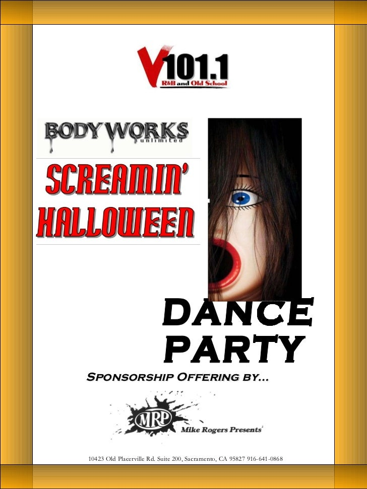 Sponsorship Offering by… 10423 Old Placerville Rd. Suite 200, Sacramento, CA 95827 916-641-0868 DANCE  PARTY