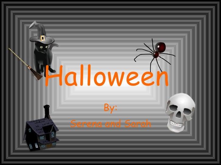 Halloween Sarah And Serena