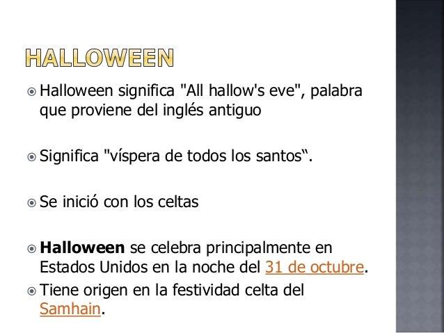 Aparador Significado Cocina ~ Halloween Que Significa En Español