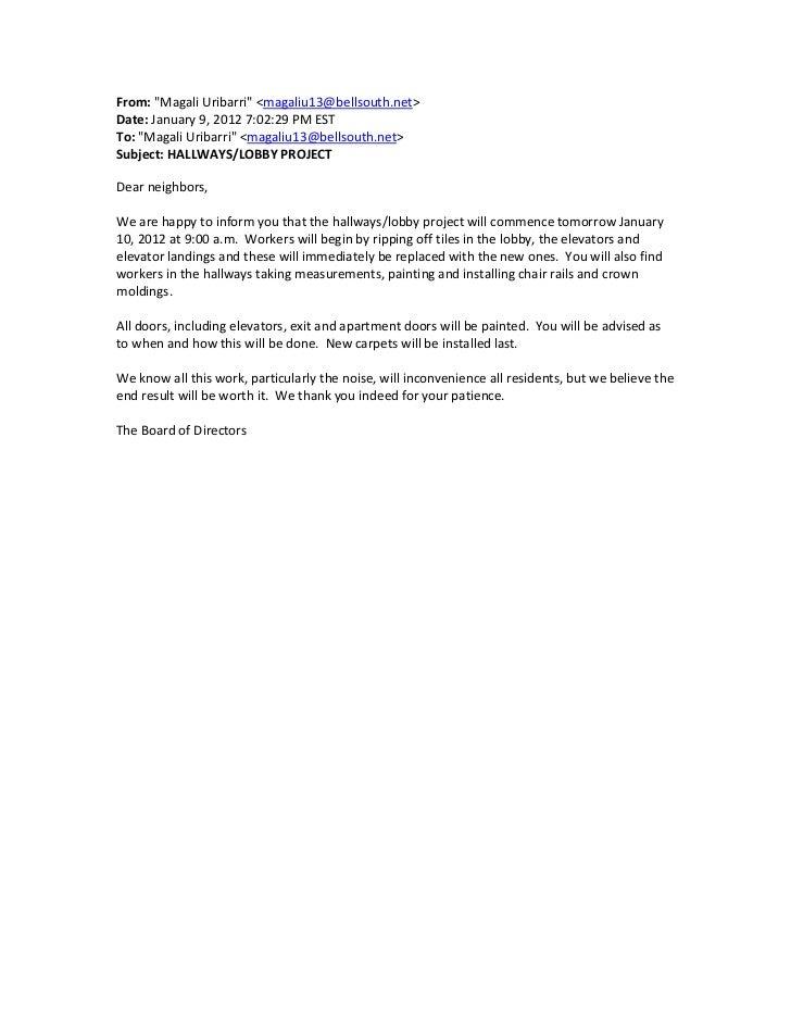 Hallway-Lobby roject e-mail 1-9-2012