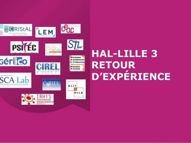 HAL-LILLE 3 RETOUR D'EXPÉRIENCE