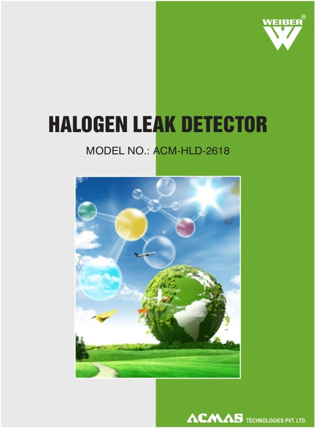 Halogen Leak Detector by ACMAS Technologies Pvt Ltd.