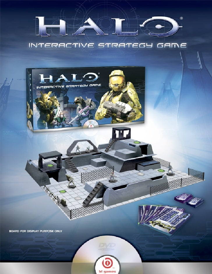 Halo Sales Sheet And Standee