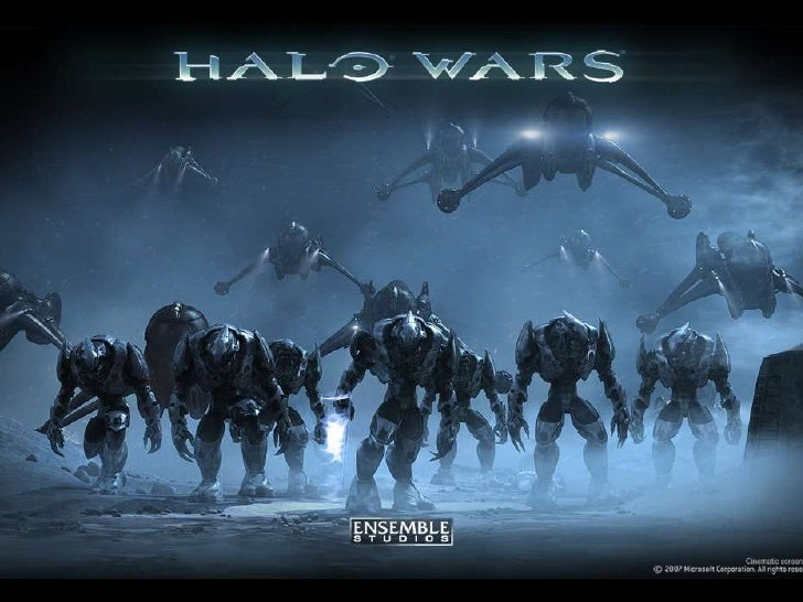 Halo Wars 2 Design Slide