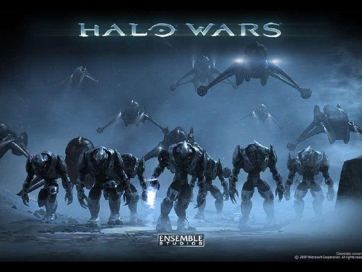 Halo Wars 2 Design Slide