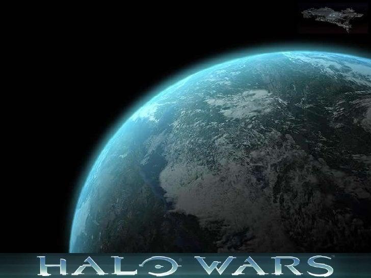 Halo Wars Design Slide