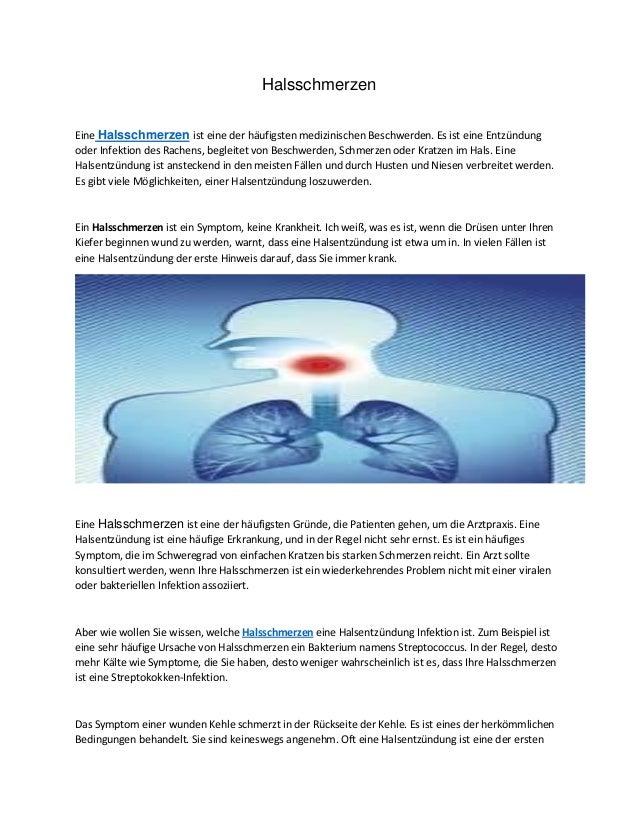 Halsschmerzen Eine Halsschmerzen ist eine der häufigsten medizinischen Beschwerden. Es ist eine Entzündung oder Infektion ...