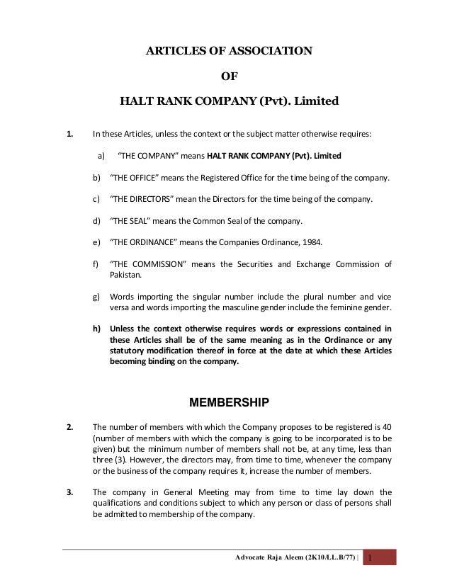 Halt Rank Company (Pvt) Limitid