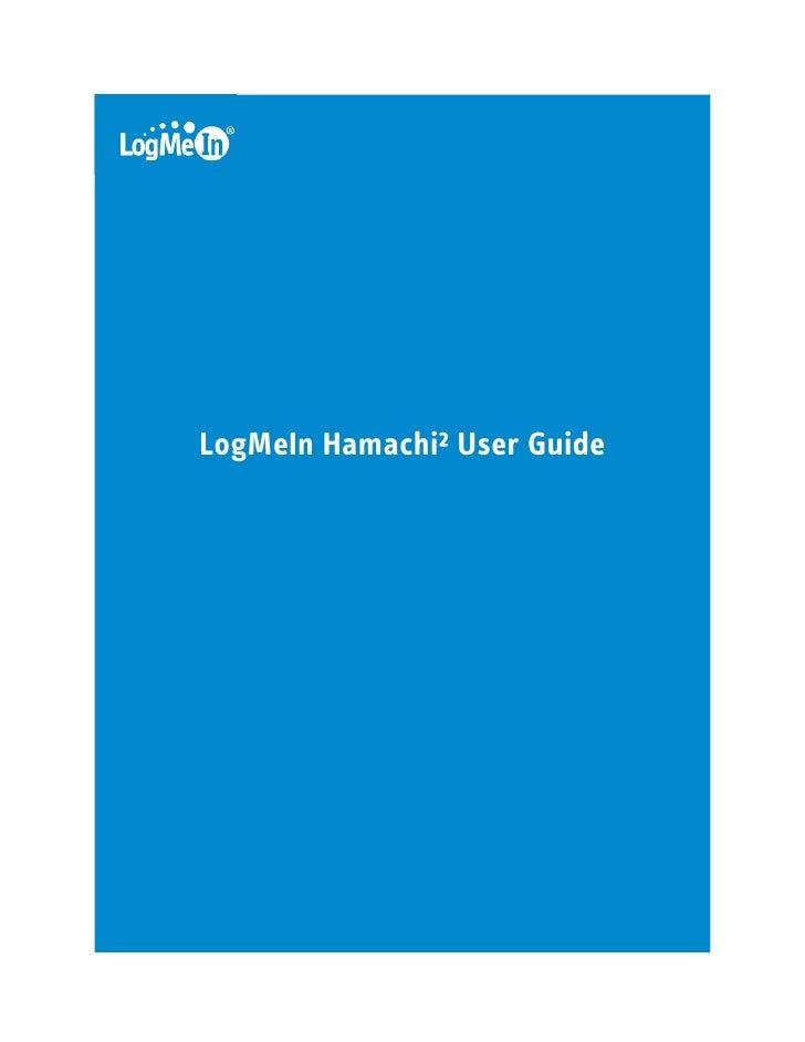LogMeIn Hamachi² User Guide