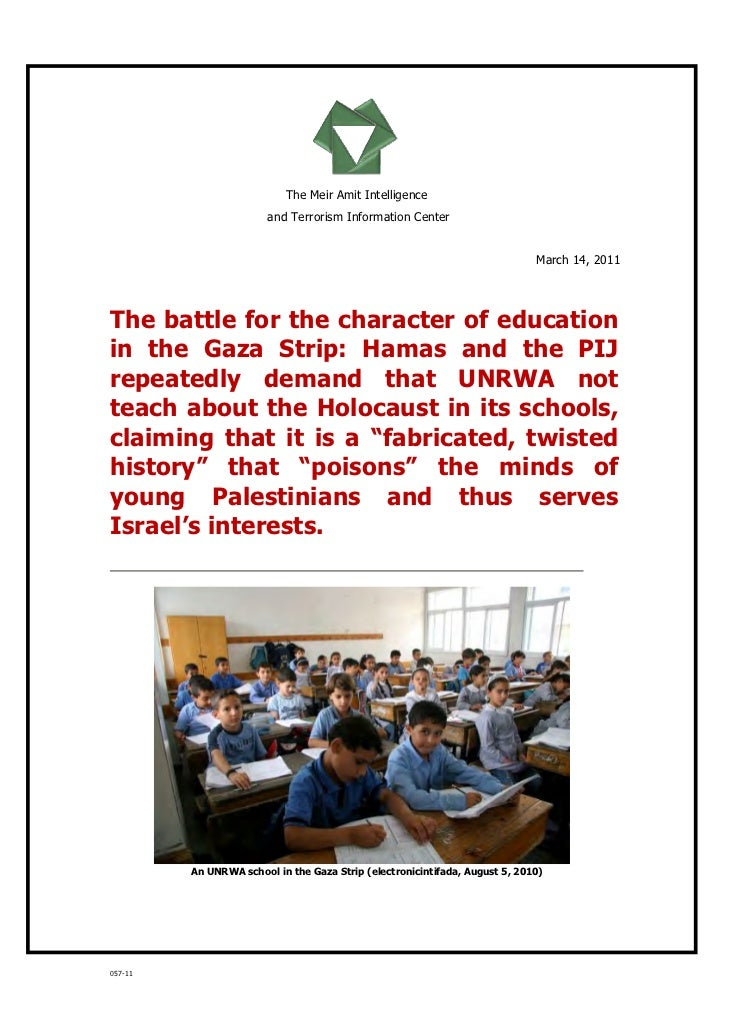 Hamas and the Education for Peace