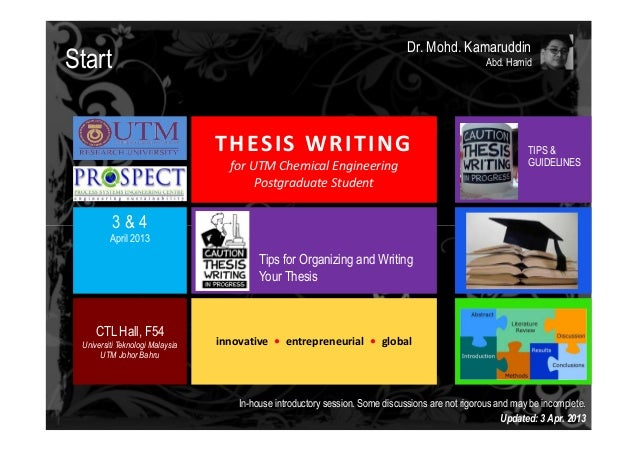 Thesis writer philippines