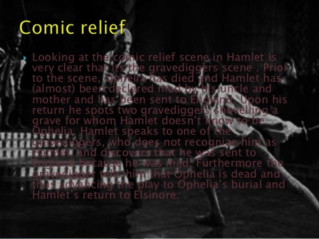 comic relief of hamlet