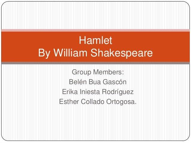 Hamlet by Belén Erika and Esther