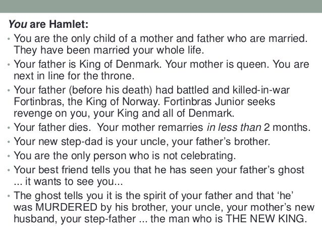 an analysis of hamlet by shakespeare Summary of hamlet hamlet is the son of the late king hamlet (of denmark), who died two months before the start of the play after king hamlet's death, his brother, claudius, becomes king.
