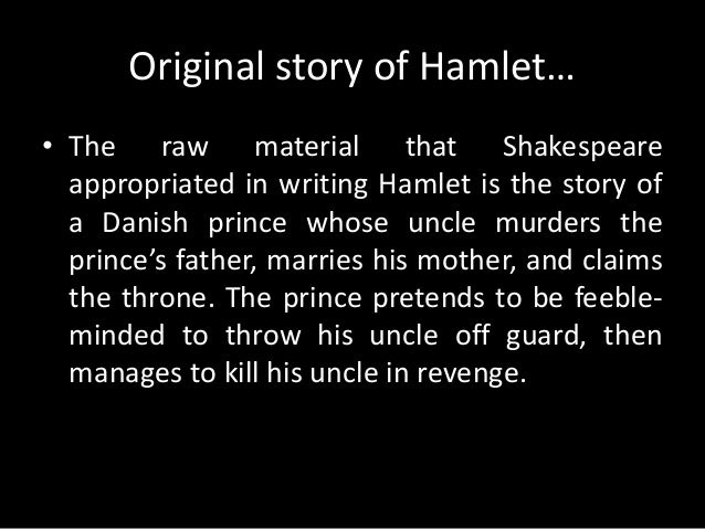 article about hamlet