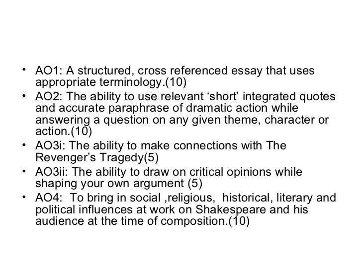 Hamlet Essay Question... HELP!?